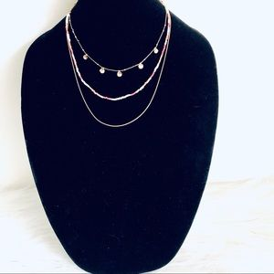 EXPRESS LAYERED PENDANT NECKLACE